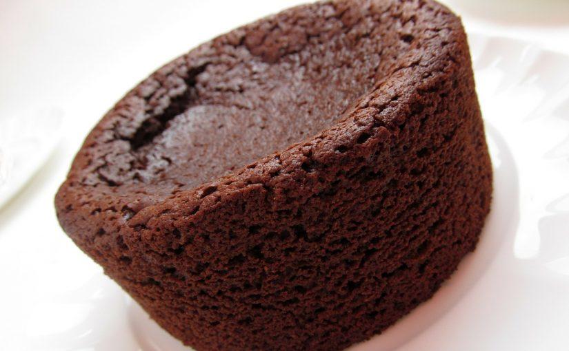 עוגת שוקולד למיקרוגל